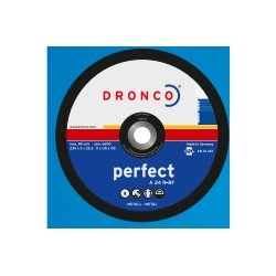 Disco corte acero 230X3X22.3 A24R Dronco