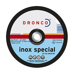 Disco 230x1,9x22 AS46T Inox special Dronco