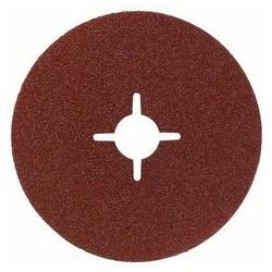 Disco lijador de fibra R444 Bosch grano 120
