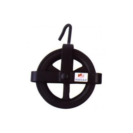 Polea pozo 200mm reforzado 31200 NUSAC