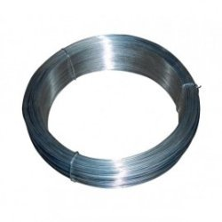 Rollo alambre galvanizado nº4 0.9mm/250gr rollo 48 mt aprox.