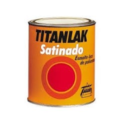 Esmalte poliuretano satinado Titanlak 1499 blanca 750ML