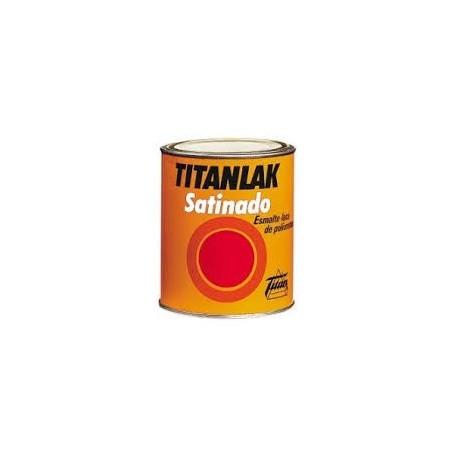 Esmalte poliuretano satinado TITANLAK 1499 blanca 750 ml
