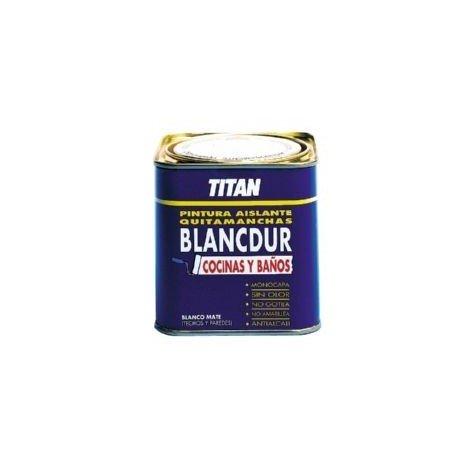 pintura aislante quitamanchas titan blancdur 750ml