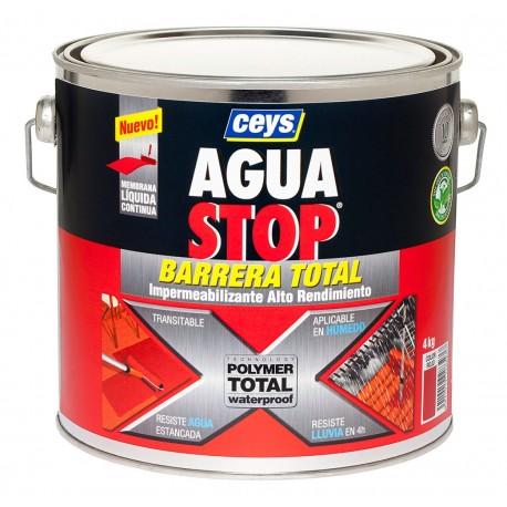 Aguastop Ceys Barrera Total Rojo 4kg