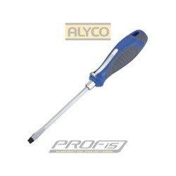 Destornillador boca plana Alyco 119006