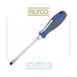 Destornillador boca plana Alyco 119005