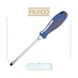 Destornillador boca plana Alyco 119004