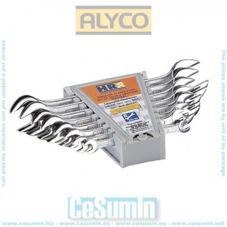 juego llaves fijas Alyco HR 170080