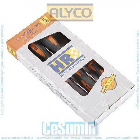 juego destornilladores Alyco HR 170448
