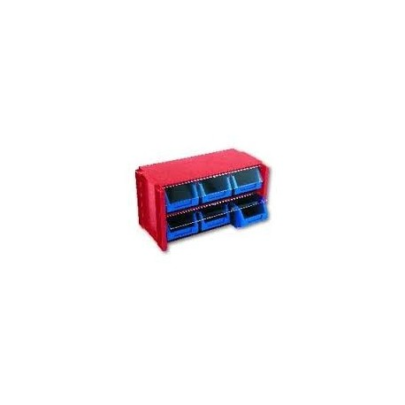 estante 6 gavetas 306006 Tayg