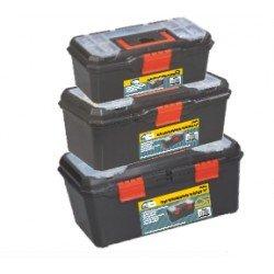 Kit 3 cajas herramienta Mercatools MT-25411