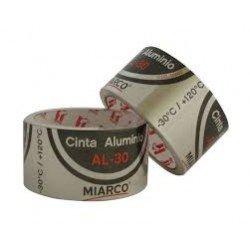 Cinta adhesiva aluminio miarco 50mm