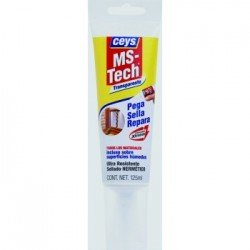 Adhesivo Ms- tech Ceys translúcido 125ml