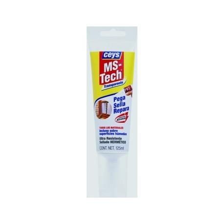 adhesivo Ms- tech Ceys translúcido 125ml