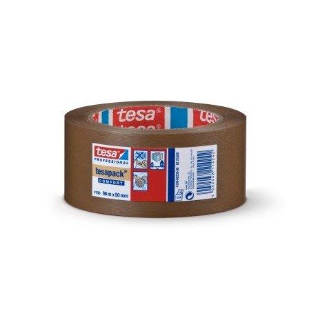 cinta tesapack 4100 marron rugoso