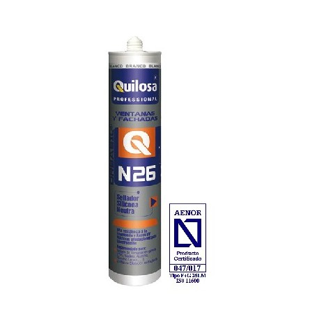 sellador quilosa n26 negro 300ml