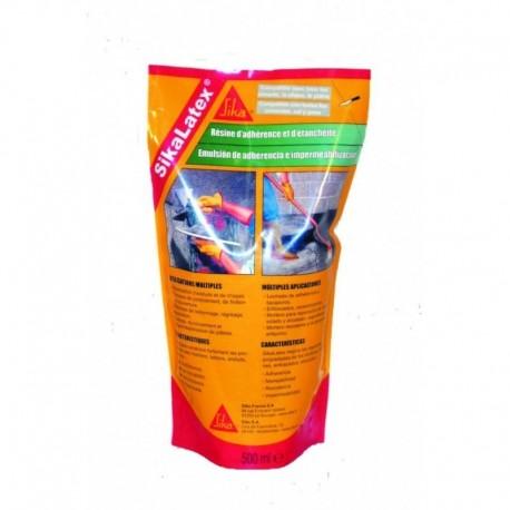 emulsión adhesiva sika sikalatex blanco 0.5L