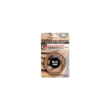 Canto autoadhesivo madera ceys nogal 851302