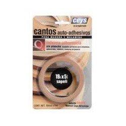 Canto autoadhesivo Ceys madera sapeli 850402
