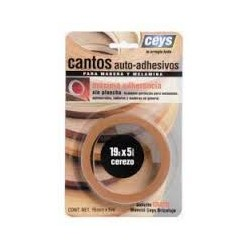 Canto autoadhesivo Ceys madera cerezo 851102