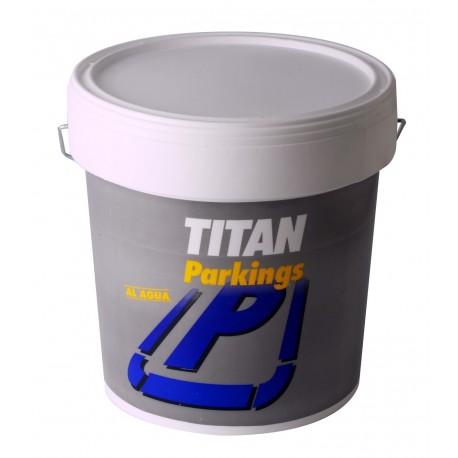 pintura titan parkings 4706 4L rojo
