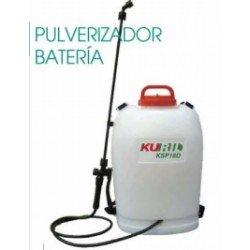 Sulfatadora batería Kuril 18 lt.