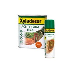 Aceite teca incoloro Xyladecor 750 ML