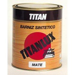 barniz sintético mate titan madera 1L