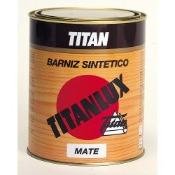 barniz sintético mate titan madera 500ml