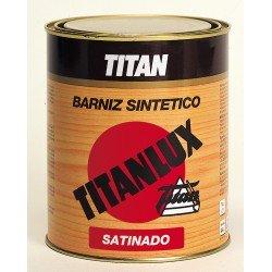 barniz sintético satinado titan madera 500ml