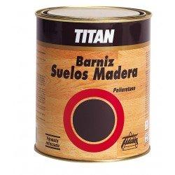 Barniz suelos madera Titan satinado 1 LT