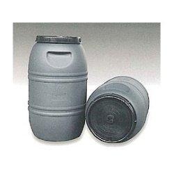 Bidón Plástico uso alimentario 220 L Gris
