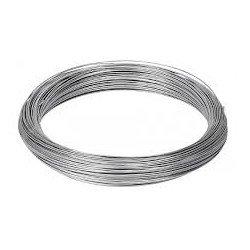 Rollo alambre galvanizado nº8 1,35mm/1000gr rollo 64 mt