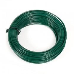 Rollo alambre verde nº11 1,6mm/1000gr rollo 130 mt