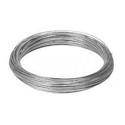 Rollo alambre galvanizado nº18 3,3mm/1000gr rollo 13 mt.