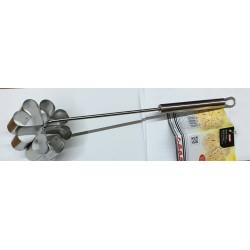 Molde de acero inoxidable para hacer flores