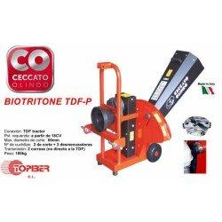 Biotriturador Ceccato Olindo con toma de fuerza para tractor 67-BIOTDF-P