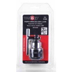 Portabroca con llave Target 1-13mm PB5166