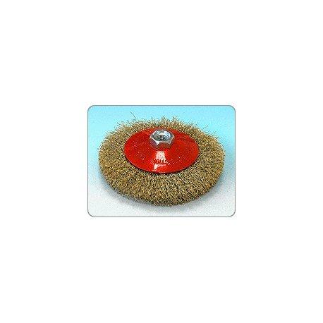 Cepillo cónico para amoladora Sit 120 M14 3mm