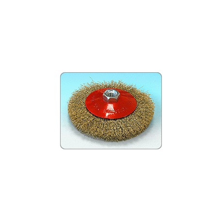 Cepillo cónico para amoladora Sit 90 M14