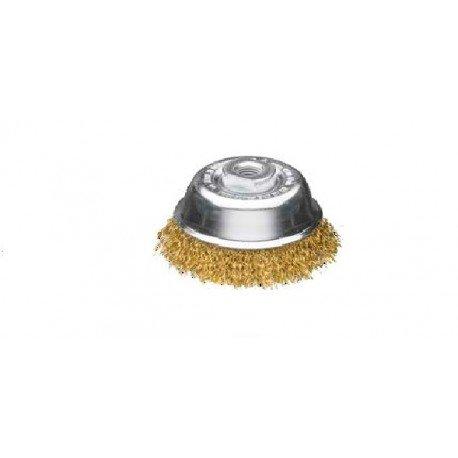 Cepillo taza latonado para amoladora Sit T100 M14