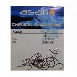 Anzuelo chemical Evia níquel negro