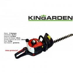 Cortasetos a gasolina kingarden HT260B