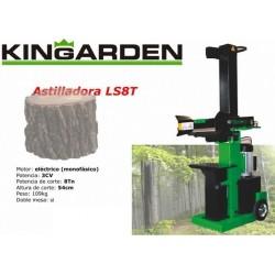 Astilladora eléctrica Kingarden LS 8 T