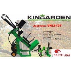 Astilladora eléctrica polivalente Kingarden VHLS10T
