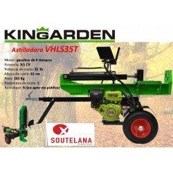 Astilladora gasolina polivalente Kingarden VHLS35T