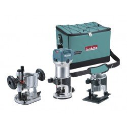 Fresador Makita multi kit RT0700CX2