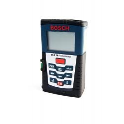Medidor láser + funda Bosch DLE 70 + funda