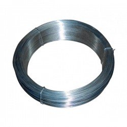 Rollo alambre galvanizado nº10 1.5mm/500gr rollo 6 mt aprox